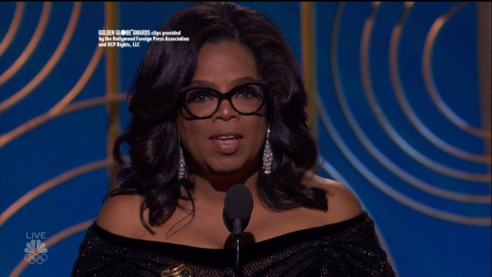 77433042ade Oprah Winfrey s full Golden Globes speech - ABC News