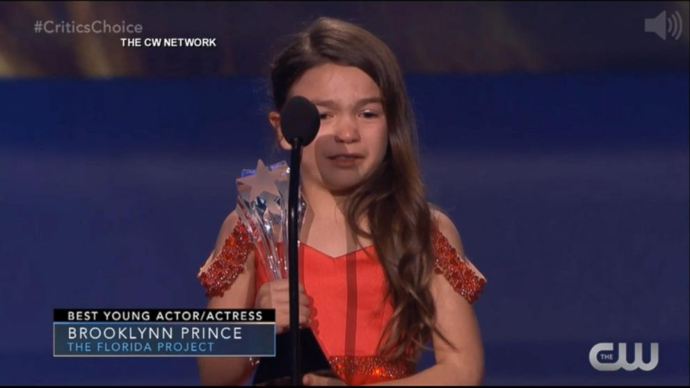 7-year-old adorably wins Critics' Choice award for 'The Florida Project'  Video - ABC News