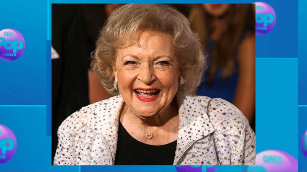 fc9e36ede Betty White celebrates her 96th birthday Video - ABC News