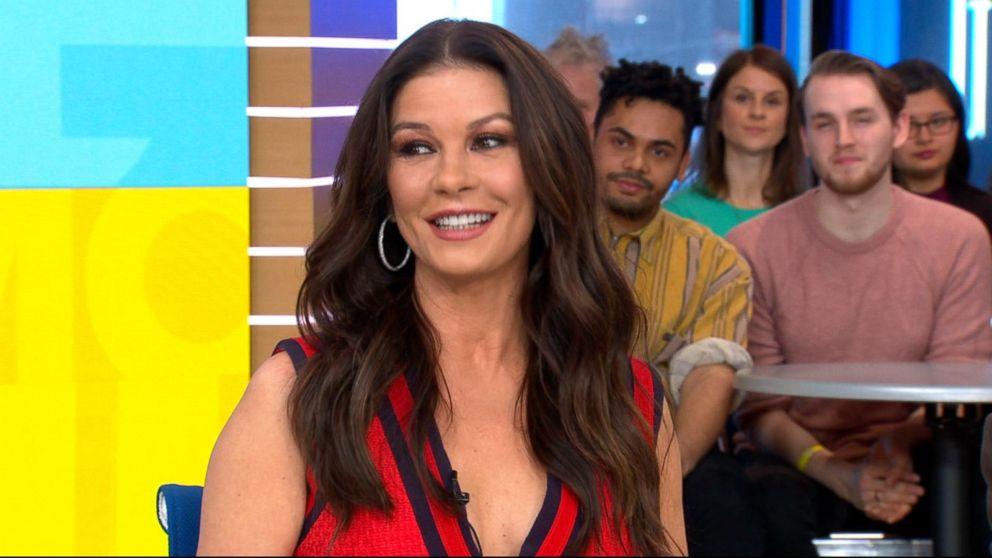 Watch Catherine Zeta-Jones and Michael Douglas drop their
