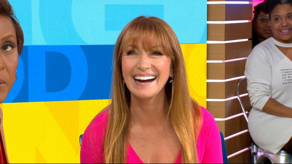 Good Morning America Jenna Marbles : Gma weekend blond let s get physical star jane seymour on
