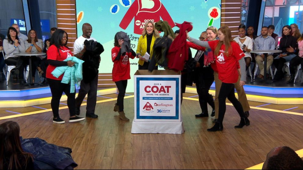 Over 160,250 coats donated this year through the Burlington Coat Drive