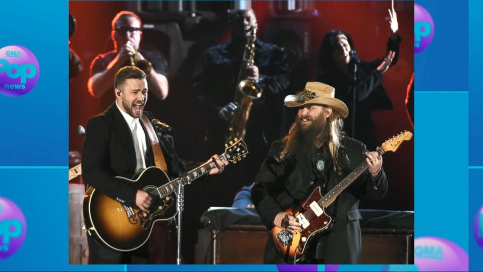 Justin Timberlake Drops New Music Video With Country Singer Chris