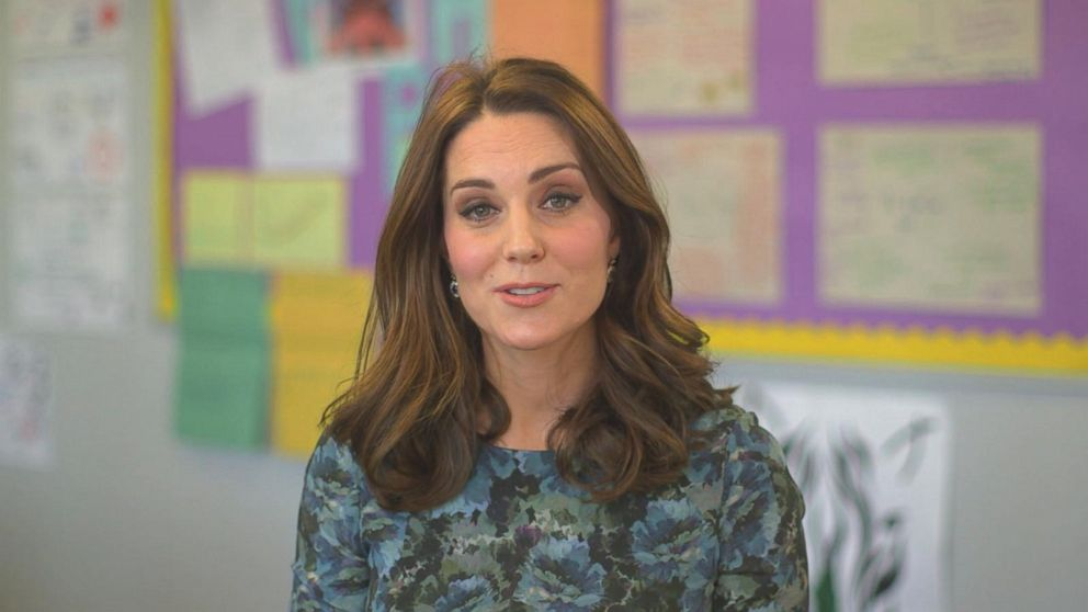 Good Morning Princess In German : Princess kate voices powerful psa on children s mental