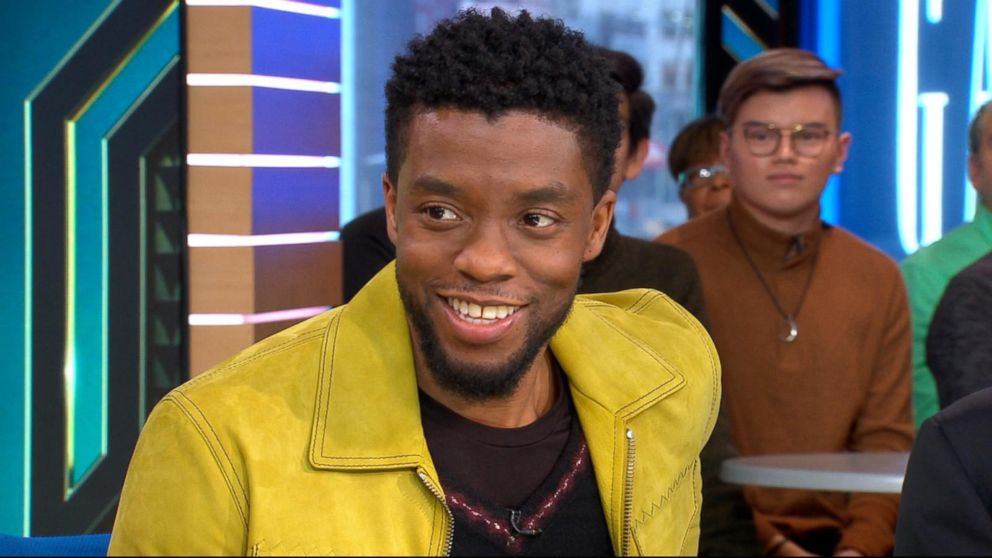 big sale 3fab2 5800a Chadwick Boseman opens up about  Black Panther