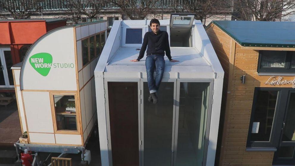tiny house on wheels takes minimalist living to the next level abc