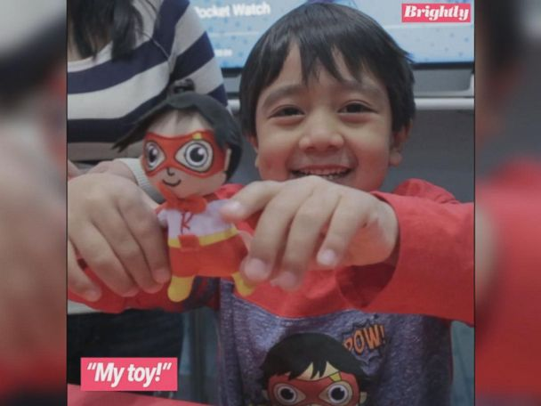 WATCH:  6-year-old YouTube toy reviewer debuts toy line at New York Toy Fair