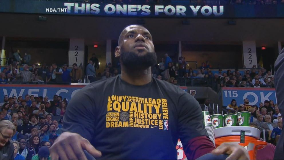 de8584c10480 LeBron James says  Laura who   as he responds to the Fox News host telling  him to  shut up and dribble  - ABC News