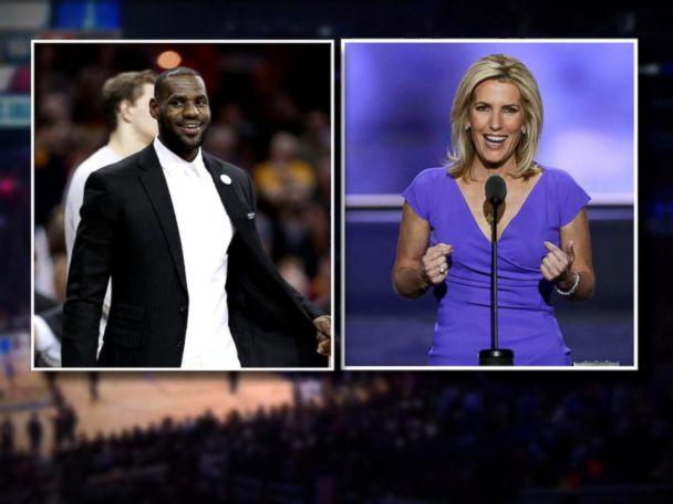 WATCH:  LeBron James responds to Fox News host