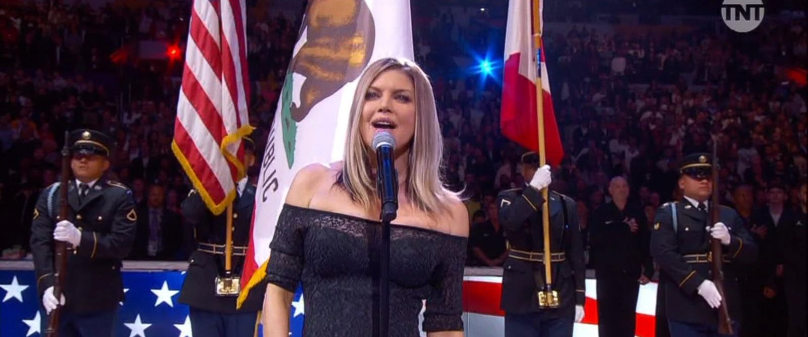 VIDEO: Fergie says she 'wanted to try something special' for NBA All-Star performance