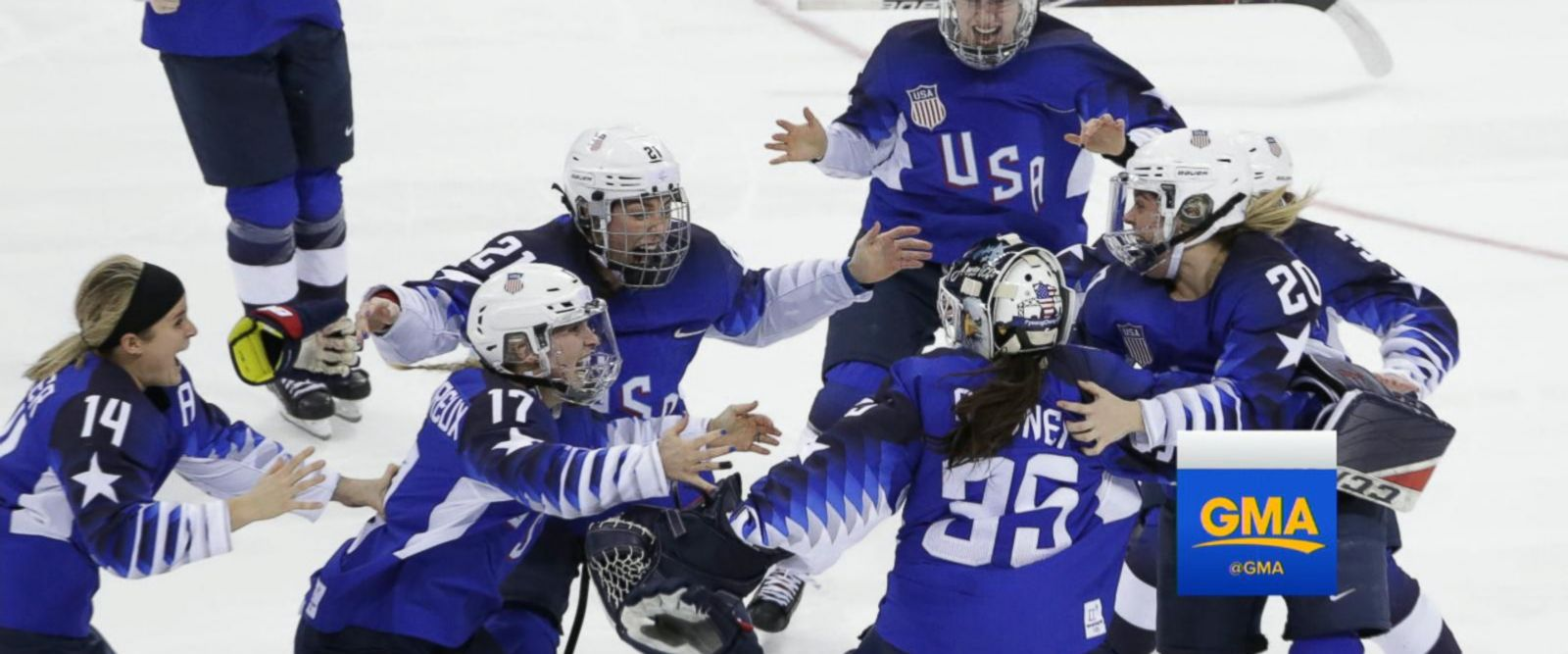 VIDEO: US wins Olympic gold in women's hockey