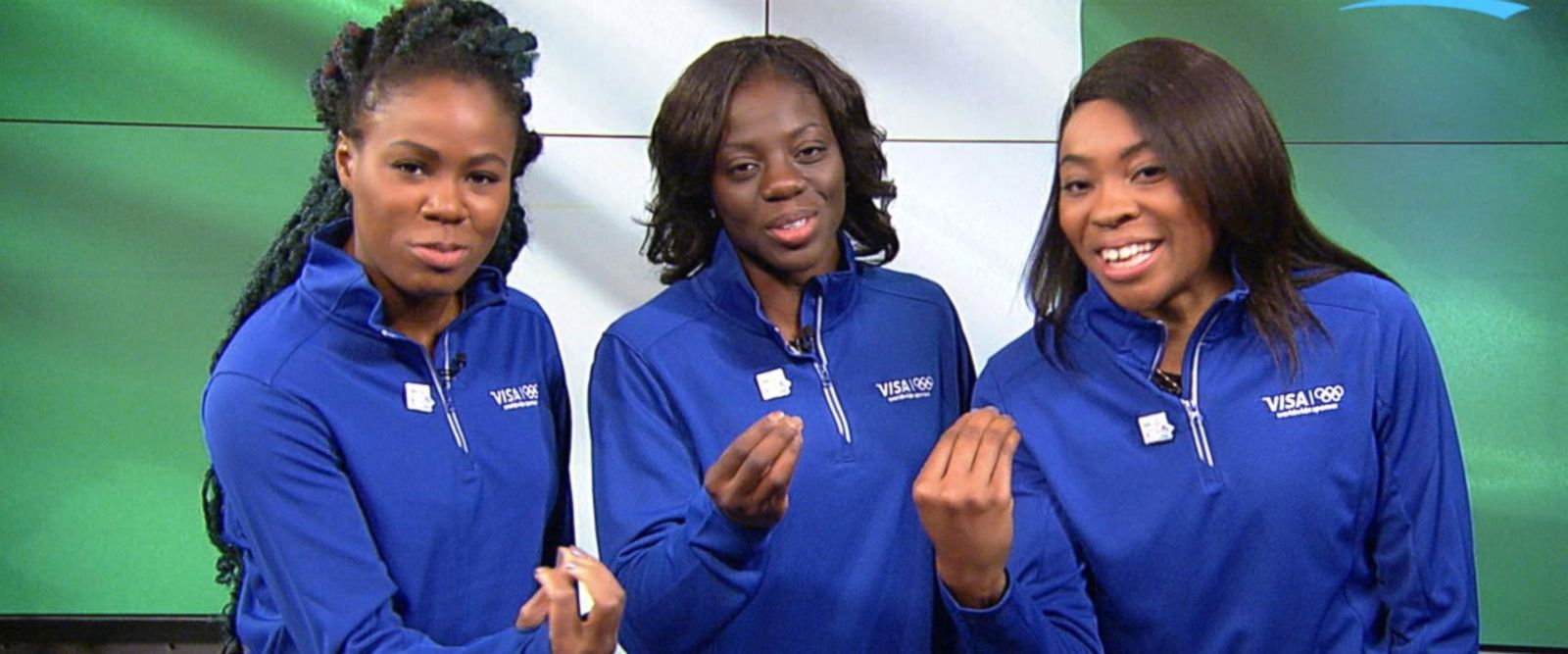 VIDEO: Nigeria's bobsled team makes history at the Winter Olympic Games