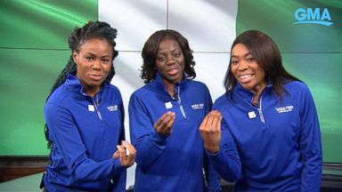 'VIDEO: Nigeria's bobsled team makes history1_b@b_1the Winter Olympic Games' from the web at 'https://s.abcnews.com/images/GMA/180222_vod_gma_bobsled_16x9_384.jpg'