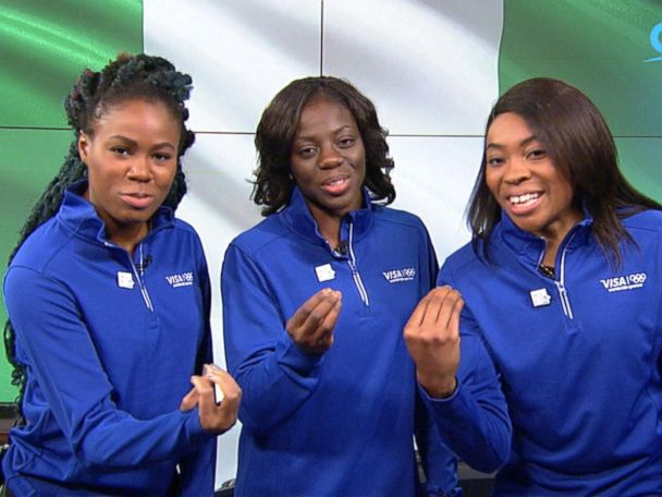 WATCH:  Nigeria's bobsled team makes Olympic history