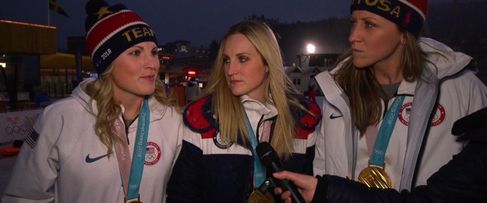 VIDEO: Meet the women taking home the medals at the Olympic Winter Games
