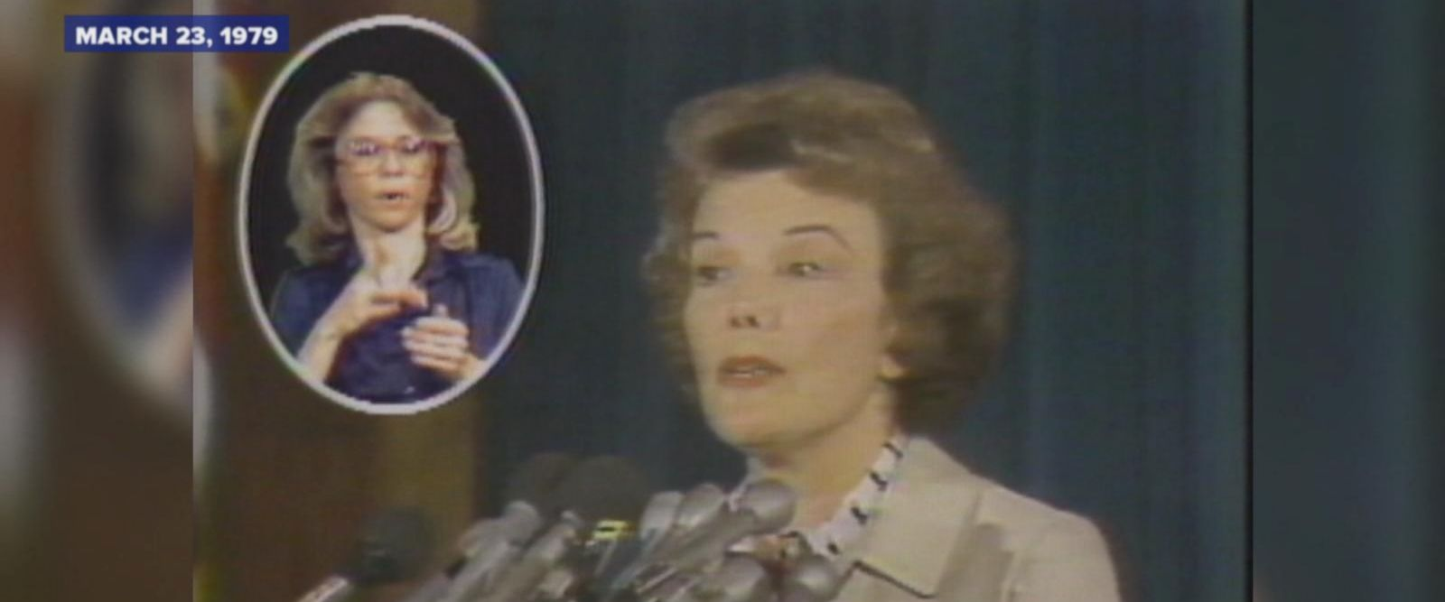 """Helen Keller said that if she could have her hearing or her sight back, she would have taken her hearing without hesitation,"" Actress Nanette Fabray, who is hearing impaired herself, said during a speech."