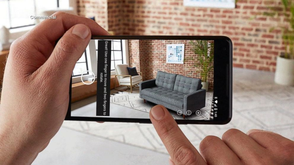 Amazon adds augmented reality function to its Android app