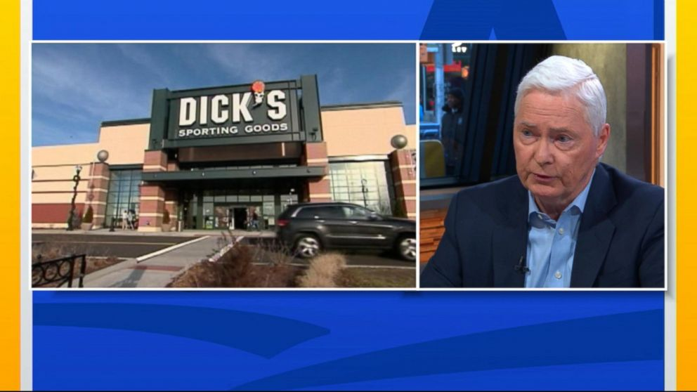 0e4e02dd4f8 Dick s Sporting Goods CEO on decision to no longer sell assault-style  rifles   We don t want to be a part of this story  - ABC News