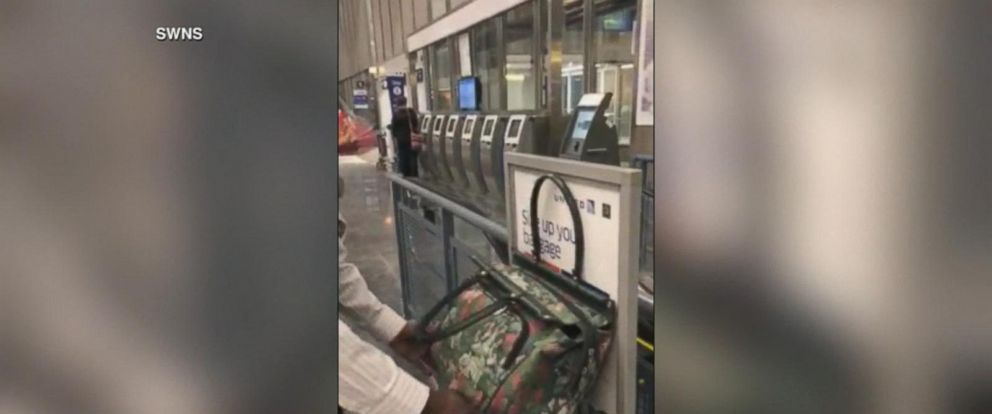 VIDEO: Airline crew caught on camera arguing over carry-on bag