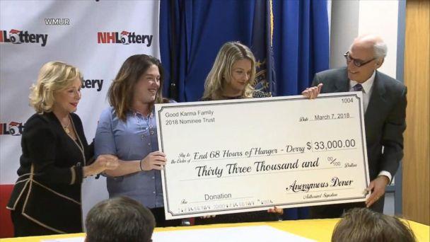 Winner of $560M Powerball jackpot makes major donations to charities