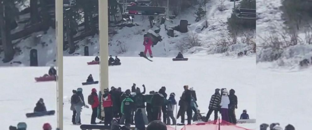 VIDEO: Mom recalls fear of watching daughter dangle from ski lift
