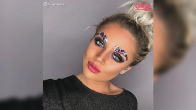 Attractive Jeweled Eyebrows Are The Latest Bizarre Beauty Trend To Go Viral
