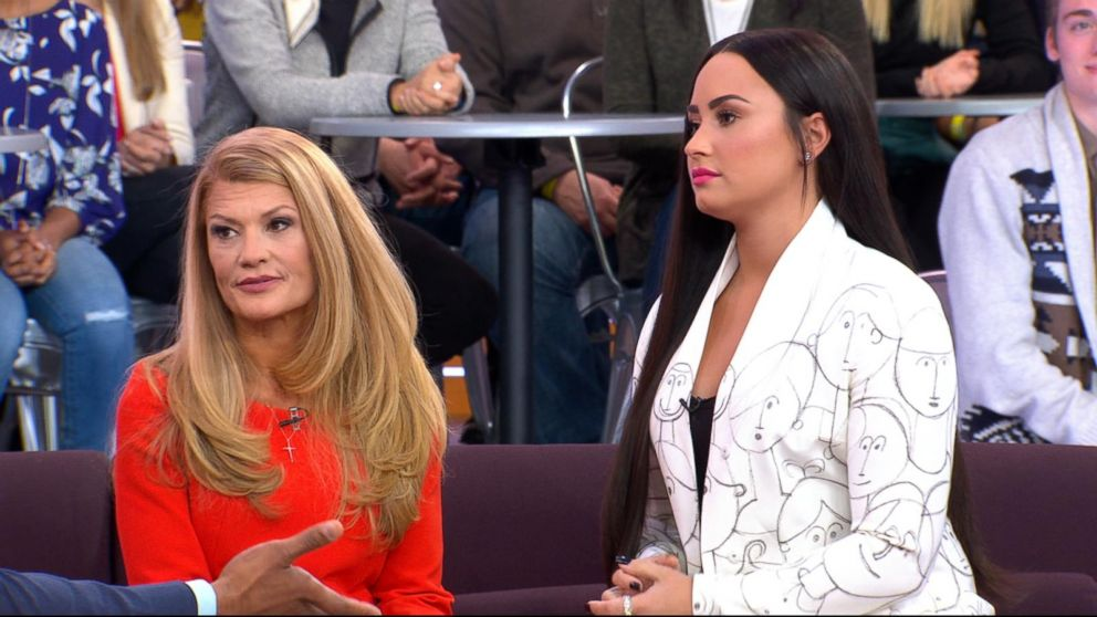 VIDEO: Demi Lovato and her mother open up about overcoming addiction live on 'GMA'