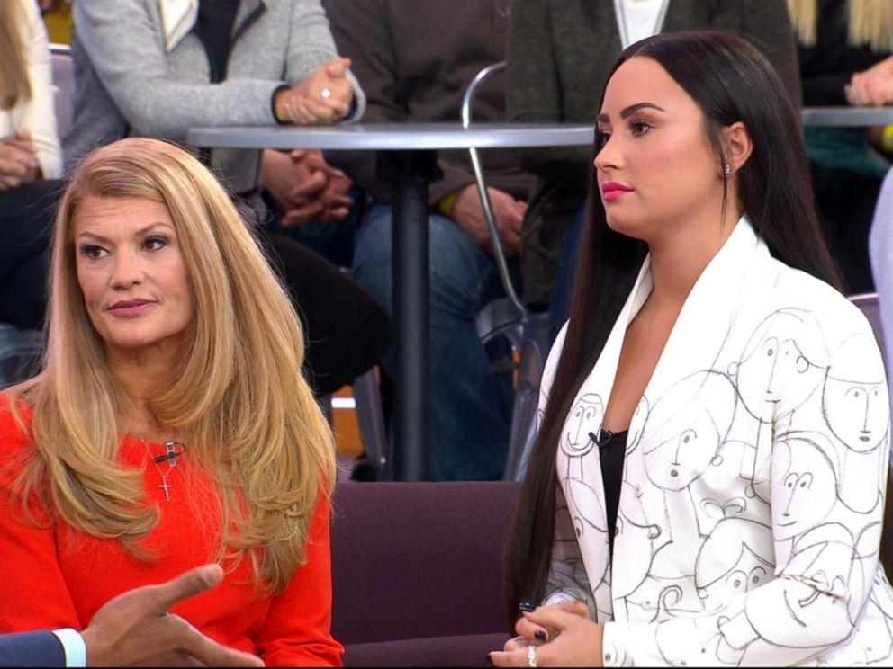 VIDEO: Demi Lovato and her mother open up about overcoming addiction live on GMA
