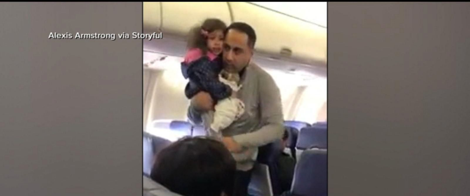 VIDEO: Father, young daughter were ordered to get off a plane