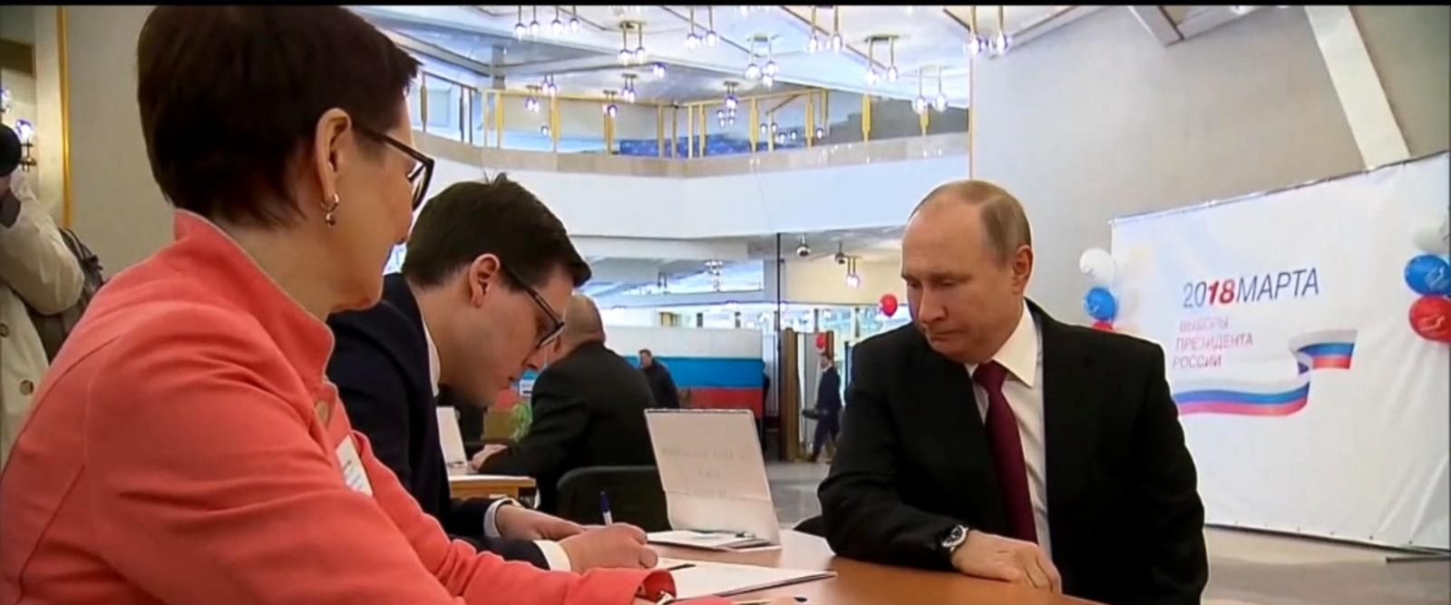 VIDEO: Russian presidential election underway as tensions rise with UK, US