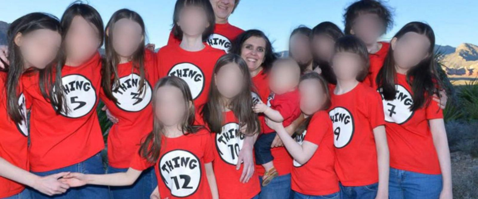 VIDEO: Siblings allegedly held captive free for 1st time