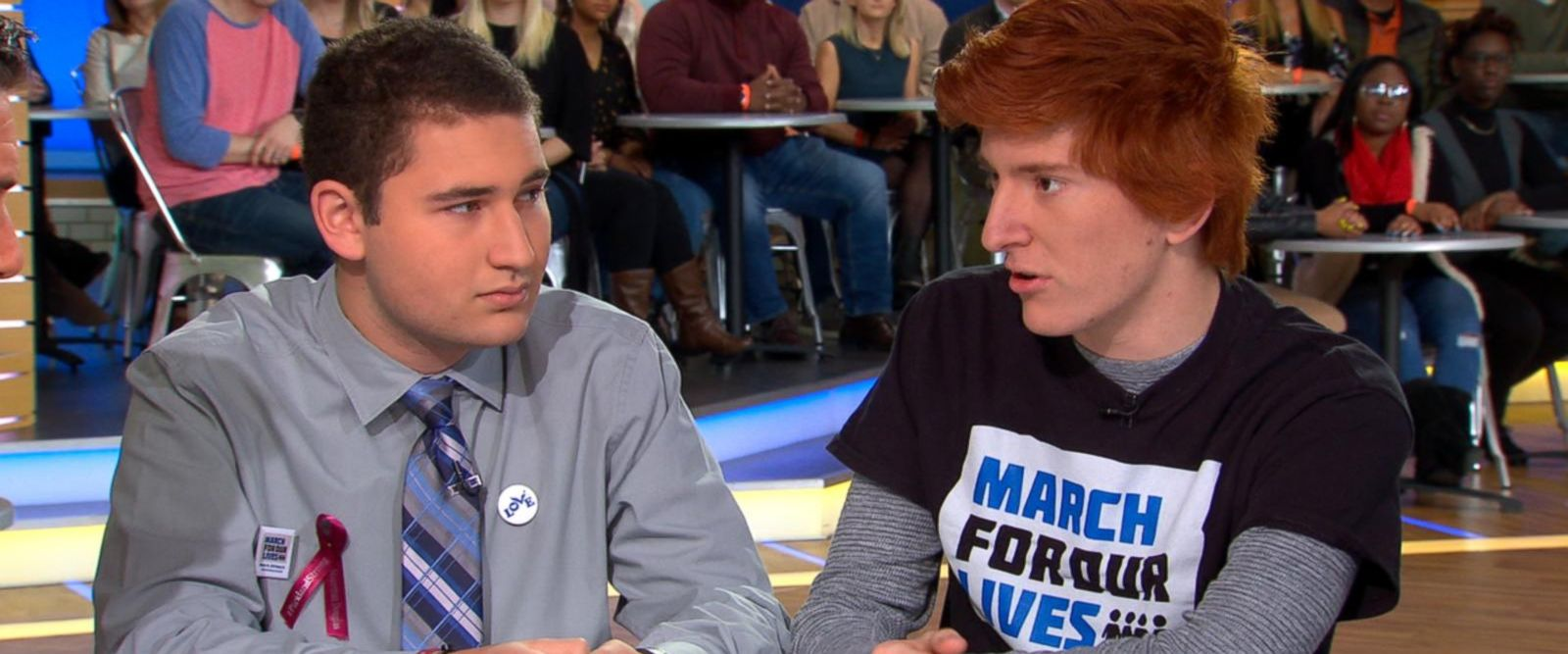 VIDEO: Florida school shooting survivors speak out ahead of March for Our Lives