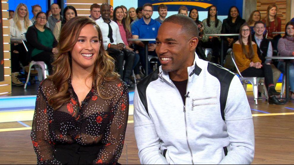 Jason George and Jaina Lee Ortiz dish on \'Grey\'s Anatomy\' spinoff ...