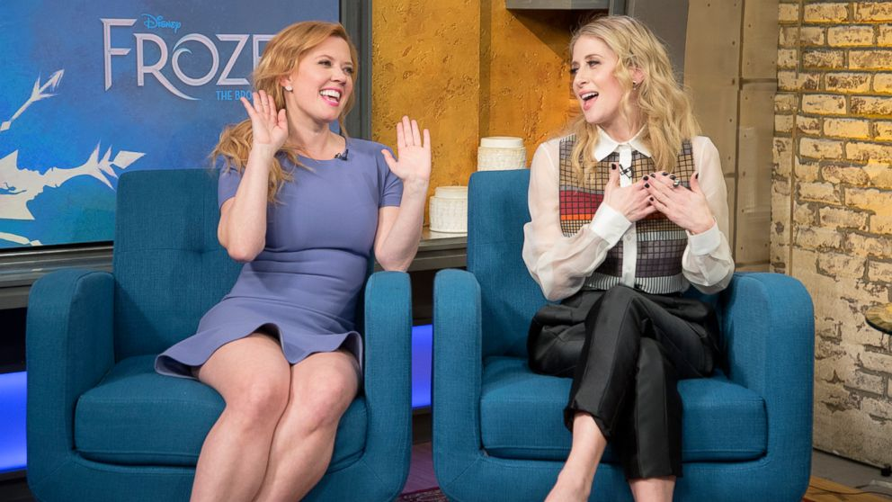 VIDEO: Frozen the Musical stars Cassie Levy and Patti Murin sing their personal favorites