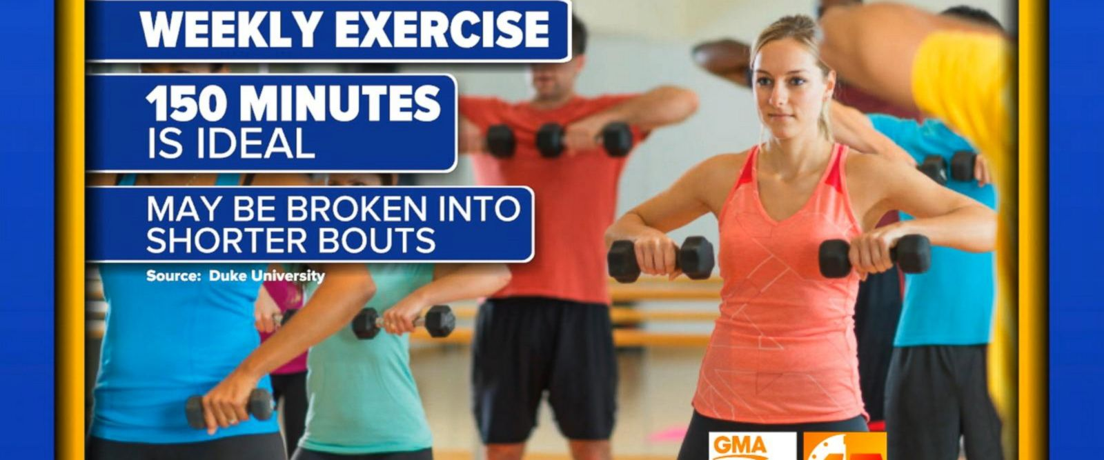 VIDEO: 'GMA' Hot List: Study reveals how many minutes of exercise you need