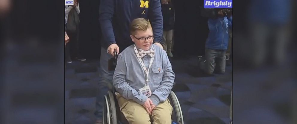 The University of Michigan mens basketball team will compete this weekend in the Final Four with a little extra help on their side, but it wont be on the court.