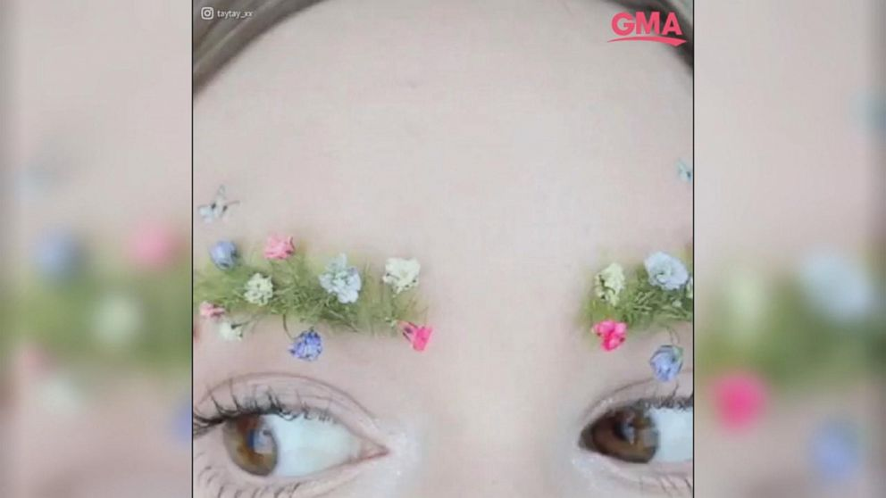VIDEO: Garden eyebrows are the newest spring time beauty trend