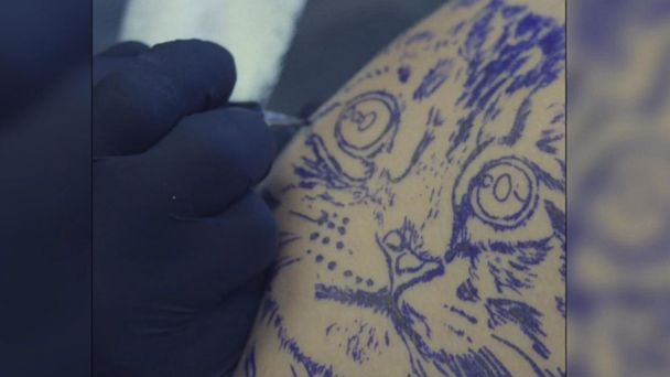 New Tattoo Trend Uses Ink Made From A Loved Ones Hair Gma