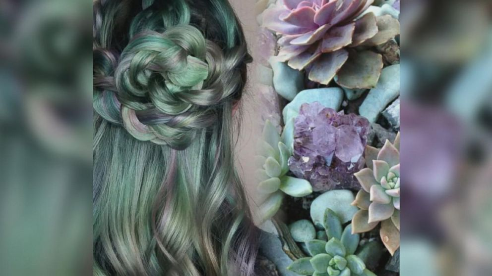 VIDEO: Succulent hair is the newest trend people are falling in love with