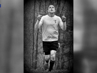 WATCH: Man who lost 100 pounds to run Boston Marathon