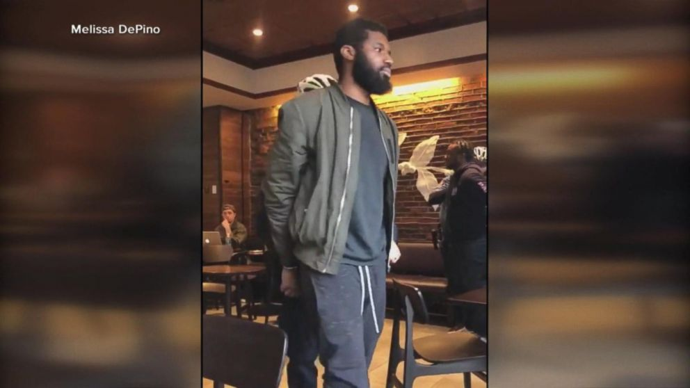 c5c8063f9d8 Ex-Starbucks manager defends decision to call cops Video - ABC News