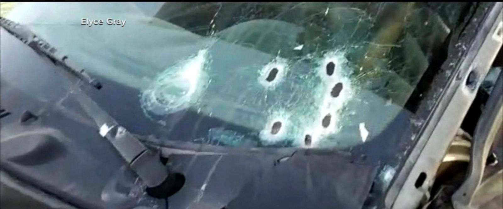 VIDEO: Father of three who died in barrage of bullets caught on camera