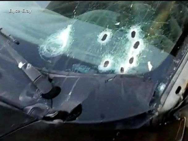 WATCH:  Father of three who died in barrage of bullets caught on camera