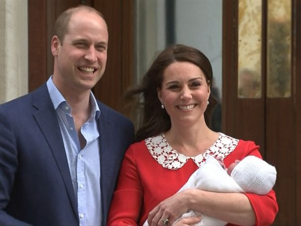 WATCH:  Prince William, Princess Kate show off baby boy