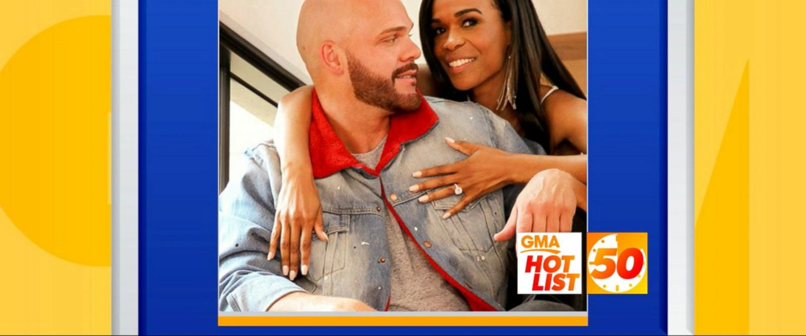 VIDEO: 'GMA' Hot List: Michelle Williams opens up about how she became engaged