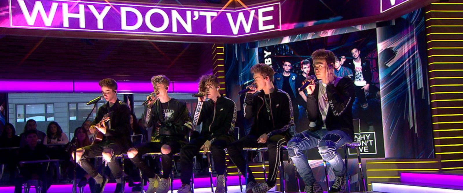 VIDEO: Why Don't We gives acoustic performance of 'Trust Fund Baby'