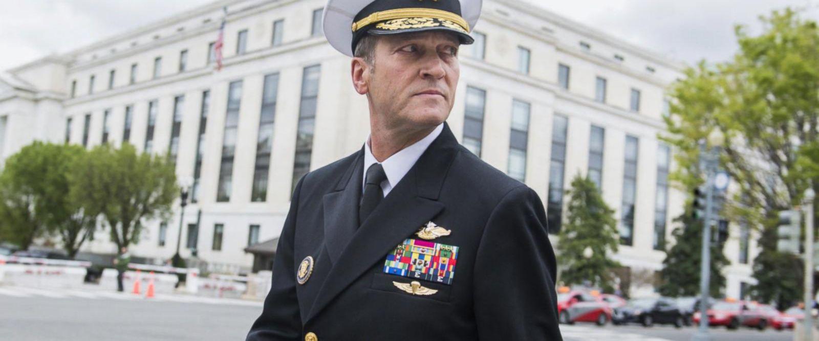 VIDEO: Trump's Veteran Affairs pick withdraws nomination
