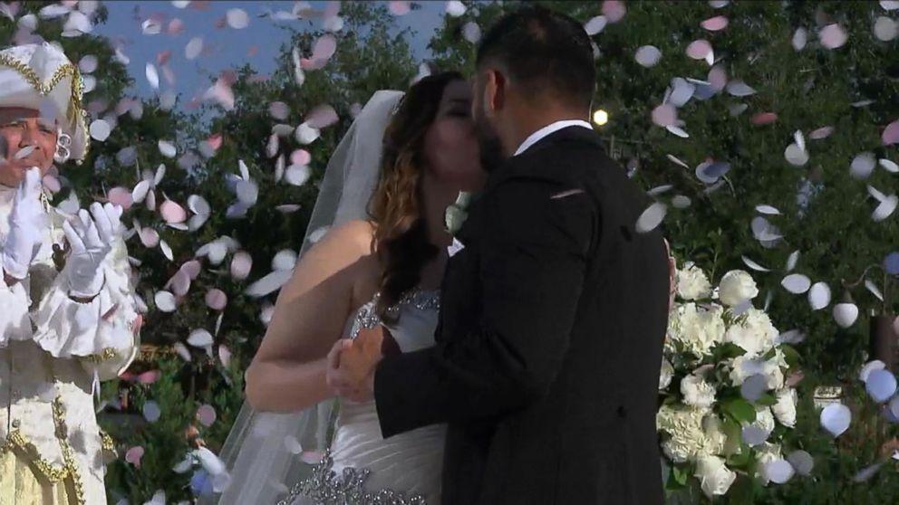 Couple Has Fairy Tale Wedding At Walt Disney World