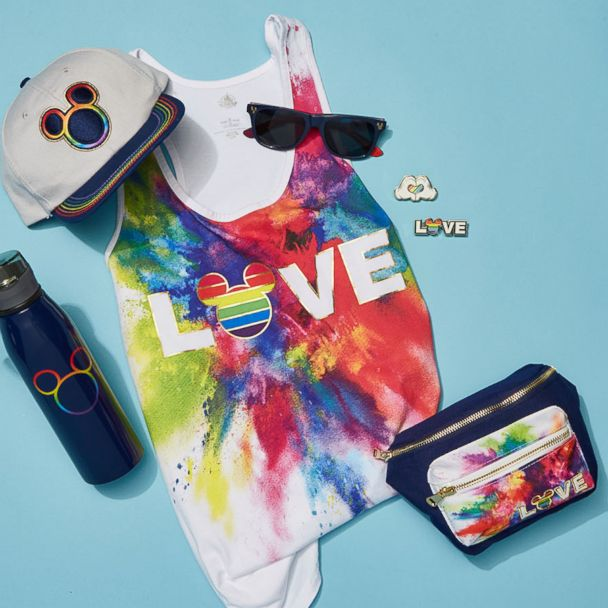 Disney S Rainbow Mickey Collection Releases New Products Gma