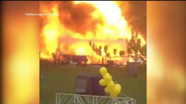 A propane tank exploded during an Autism Speaks event in Chicago